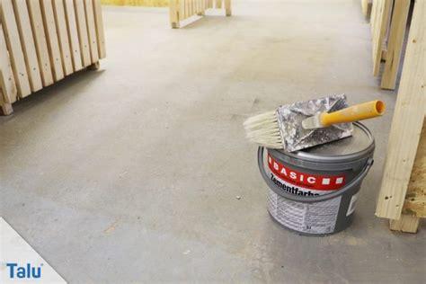 Fliesen Streichen Keller by Kellerboden Sanieren Betonboden Richtig Streichen Talu De