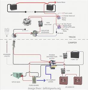 Electrical Wiring Diagrams  Rv New     Simple 12 Volt