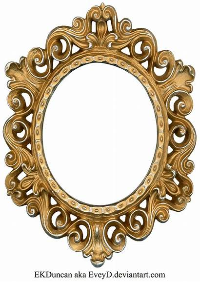 Frame Gold Silver Oval Clip Clipart Frames