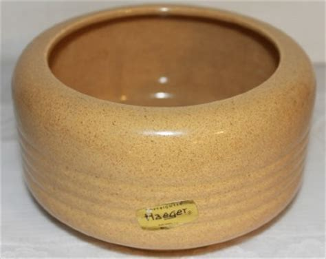 haeger pottery usa plant pot planter golden sand ribbed 6 5 quot new ebay