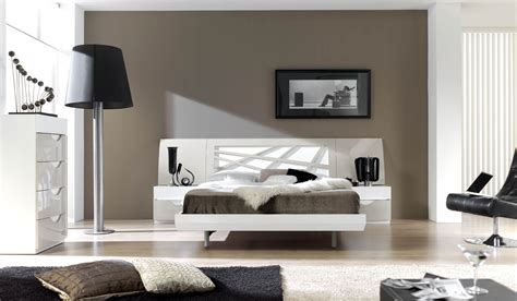 graceful lacquered contemporary modern bedroom sets