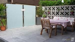 Natürlicher Sichtschutz Terrasse : sichtschutz aus glas f r den garten glasprofi24 ~ Sanjose-hotels-ca.com Haus und Dekorationen