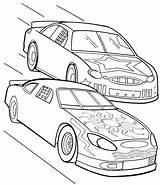 Coloring Cars Nascar Race Sprint Formula Track Drag Drawing Racing Printable Colouring Getcolorings Getdrawings Colorings Drawings sketch template