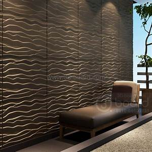 MDF 3D wave panel wall decor, beach - DD275KAT-0017
