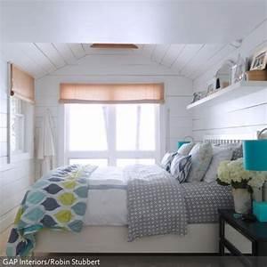 Schlafzimmer Mit Weier Holzverkleidung Weie