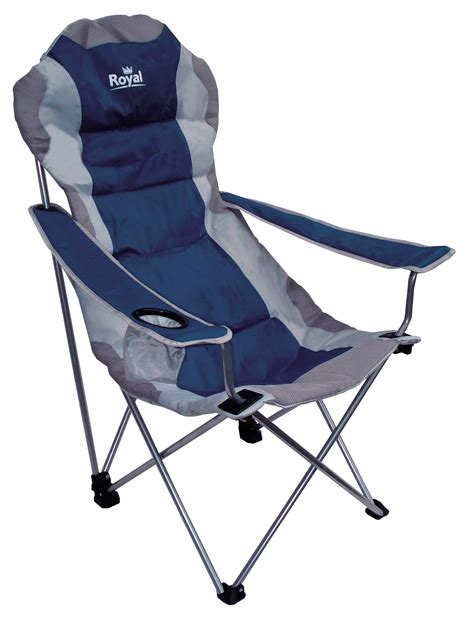 royal adjustable folding chair 120kg capacity 3 position