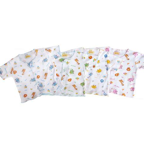 fluffy baju bayi baru lahir lengan pendek motif