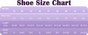 Vogue Nation Shoe Size Chart