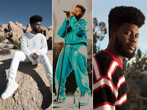 Singer Khalid Finds His Happy Place Thanks To Designer