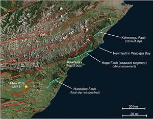 14 November 2016 Mw 7 8 New Zealand Earthquake Shows An