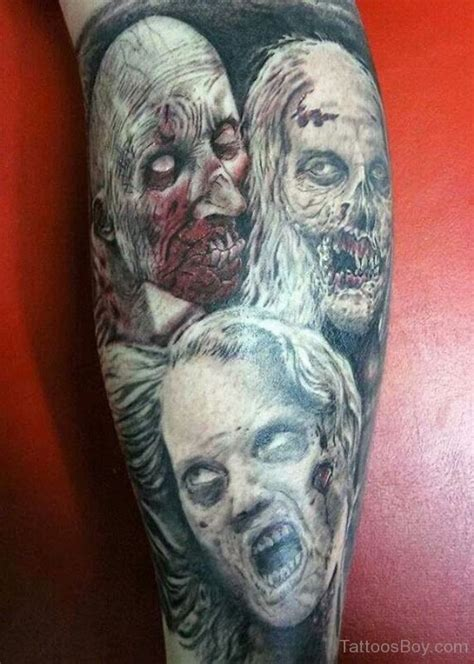 zombie tattoos tattoo designs tattoo pictures page