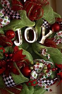 A, Christmas, Joy, Marquee, Wreath