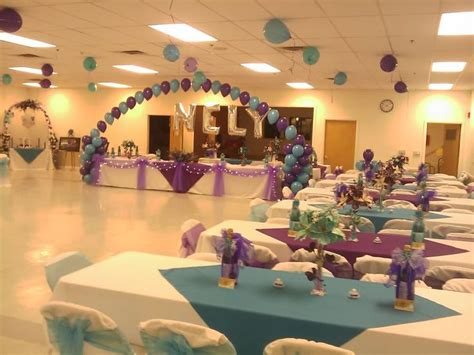 party hall decoration with balloons decoration in