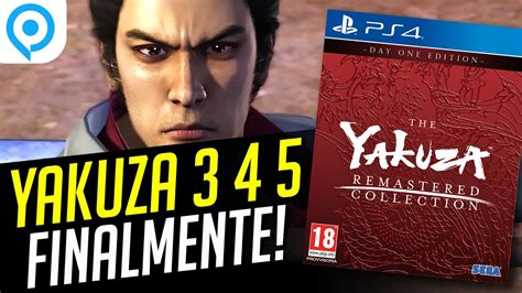 yakuza remastered collection yakuza     finalmente