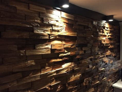 Accent Wall - Timber feature wall