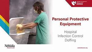 Hospital PPE - Infection Control: Doffing - YouTube