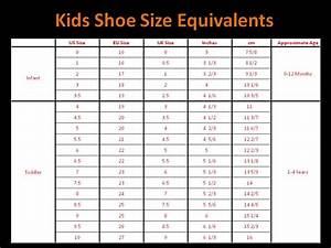 Qatique Closet  Childrens Shoe Size Chart