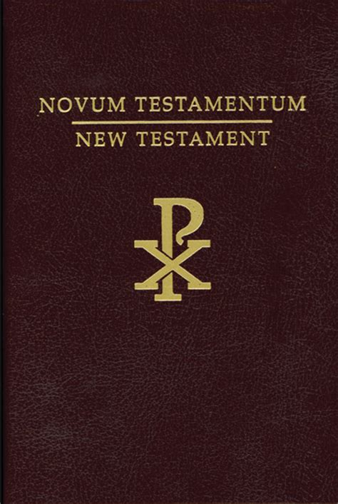 latin vulgate  testament