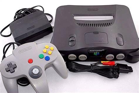 nintendo 64 colors nintendo 64 smoke grey clear console n64 bundle 5