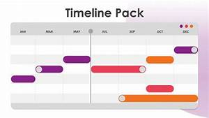 I Hate Gantt Charts Creative Timeline Free Powerpoint Template