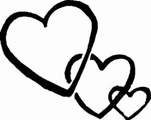 Black And White Heart Clip Art - Cliparts.co
