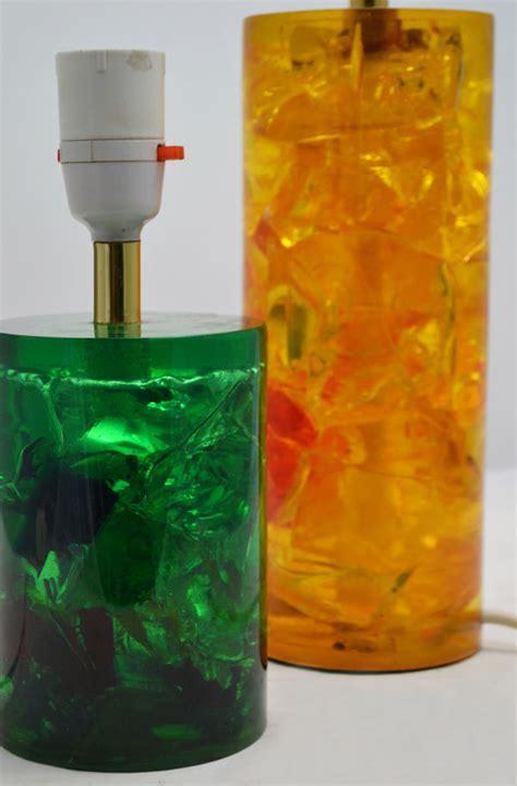 Pair   Shatterline Design Lamp Bases Domus Nova