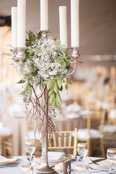 15 candelabra floral centerpieces wedding centerpieces