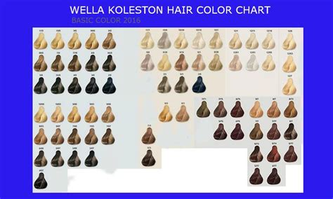 17 Best Ideas About Wella Hair Color Chart On Pinterest
