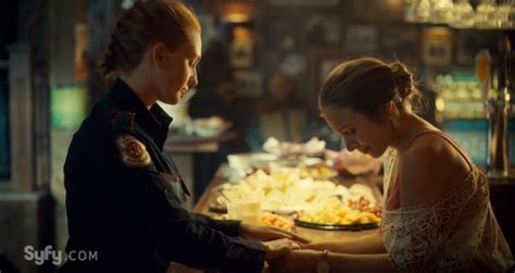 wynonna earp exclusive photo  wayhaught  episode
