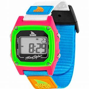 Freestyle Watches Shark Classic Clip Black  Neon Unisex