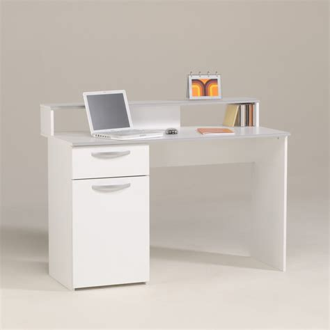 bureau avec retour pas cher bureau fille pas cher visuel 2