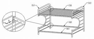Assembly instructions of quotcquot style futon bunk bed how to for C frame futon bunk bed assembly instructions