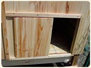 fabriquer porte coulissante 1 plan de poulailler With comment faire une porte coulissante