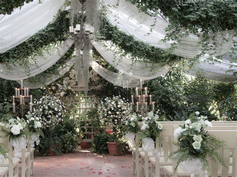 the conservatory garden wedding st louis embellishments