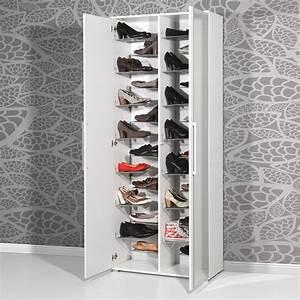 Grand Meuble A Chaussure : inspirant grand meuble chaussures 50 paires d coration ~ Melissatoandfro.com Idées de Décoration