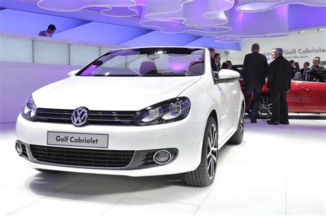 vw golf cabrio vw golf cabriolet 2013 car information news reviews