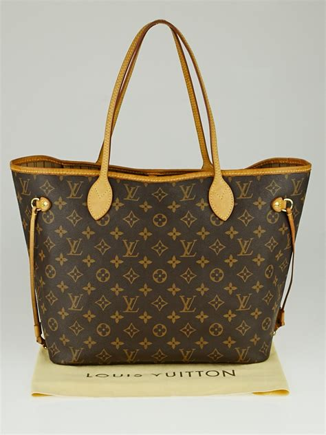 louis vuitton monogram canvas neverfull mm bag yoogis