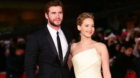 jennifer lawrence used to ask hunger games co star liam