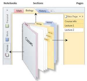 Sections OneNote Notebooks