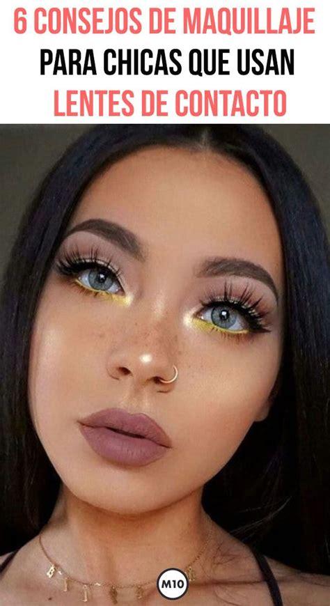6 consejos de maquillaje para chicas que usan lentes de