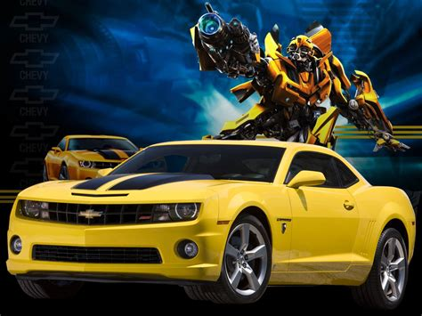 Chevrolet Camaro Transformers Bumblebee Edition