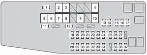 2011 Toyota Camry Fuse Diagram 26649 Archivolepe Es