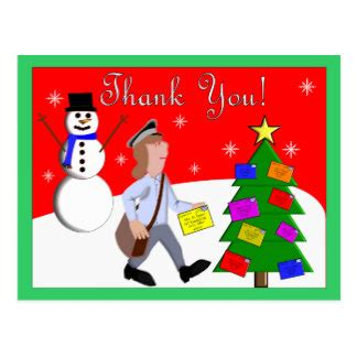 thanks mail carrier warming up mailman gifts on zazzle