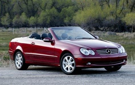convertible mercedes 2004 average consumer rating