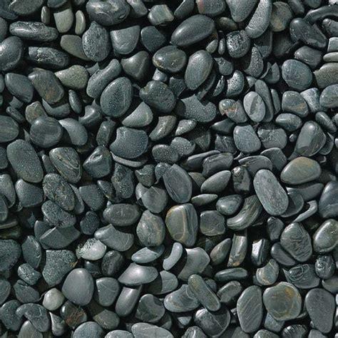 Garden Decorative Pebble by Black Polished Pebbles Marshalls Co Uk