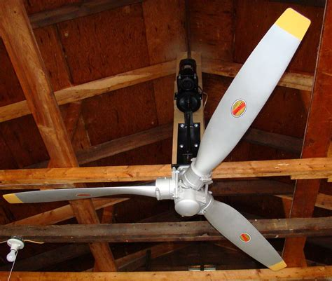 Airplane Propeller Ceiling Fan Electric Fans by Aircraft Aircraft Accessories Of Oklahoma