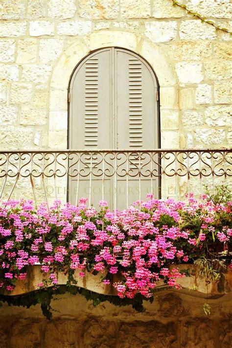 Balcony Sill by A Beautiful Balcony In The German Colony Of Jerusalem