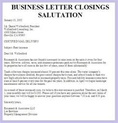 Best Salutation For Cover Letter Salutations For Business Letter The Best Letter Sle