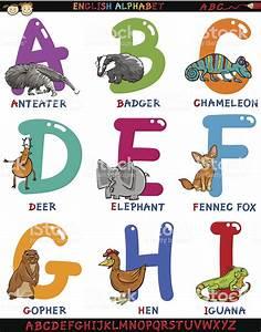 Animal En G : ingl s alfabeto com desenho de animais arte vetorial de ~ Melissatoandfro.com Idées de Décoration