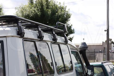 ocam alloy roof top tent rack  toyota landcruiser troop